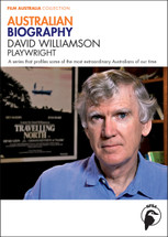 Australian Biography Series - David Williamson (3-Day Rental)