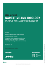 2018 ATOM Narrative and Ideology SAC for VCE Media Unit 3, Outcome 1