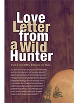 Love Letter from a Wild Hunter: Amiel Courtin-Wilson on <em>Hail</em>