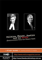 Politics, Power, Justice and the Media