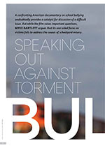 Speaking Out Against Torment: <i>Bully</i>