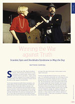 Winning the War against Truth: Scandal, Spin and Stockholm Syndrome in <i>Wag the Dog</i>