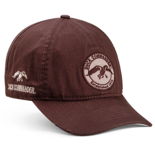 Duck Commander Chocolate Circular Logo Hat