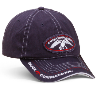 Navy Duck Commander Logo Hat