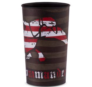 Duck Commander Flag Logo Cup