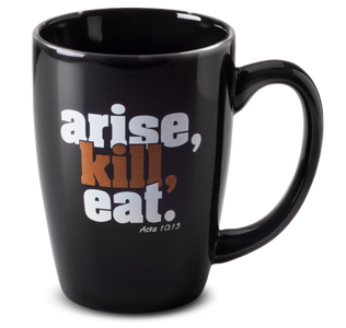 Arise, Kill, Eat 12 oz Latte Mug