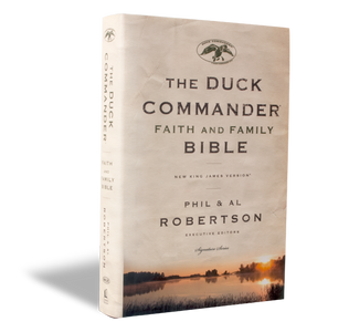 Duck Commander Faith and Family Bible, HARDCOVER