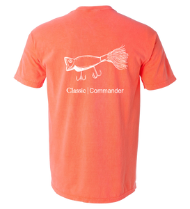 Fin Commander Hula Popper Comfort Colors Shirt