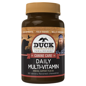 Duck Commander Daily Dog Multi-Vitamin Bottle