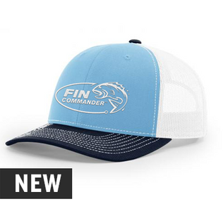 Fin Commander 3 Tone Richardson Snapback Hat