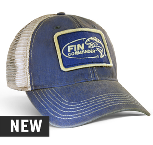 Fin Commander Old Favorite Trucker Fitted Hat