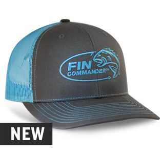 Fin Commander Neon Blue Richardson Hat