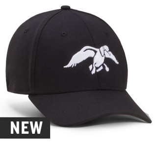 Duck Commander New Era Black Fitted Hat