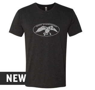 Duck Commander Black Heather Logo Shirt