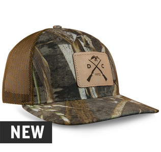 Duck Commander Realtree® Max 5 Leather Patch Hat