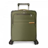 Front Shot of Commuter Expandable Spinner in olive.