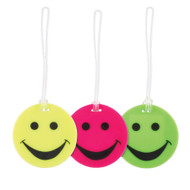 Smiley Face Rubber Luggage Tag by Lewis N Clark