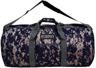 31 inch Round Duffel Bag with name patch
