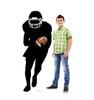 Football Player Running Back Silhouette