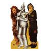 Lion, Tin Man, and Scarecrow