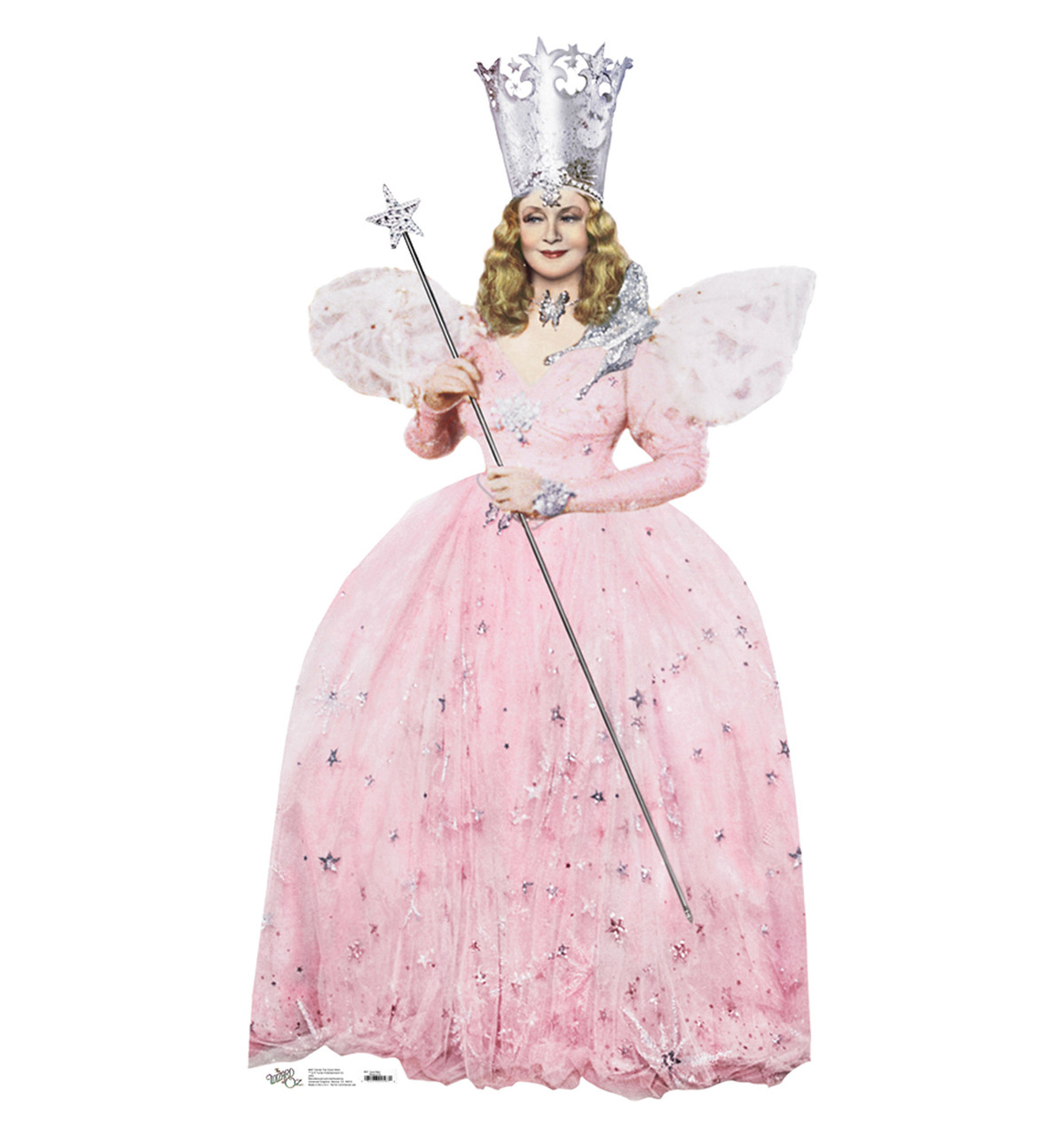 Life-size Glinda the Good Witch Cardboard Standup
