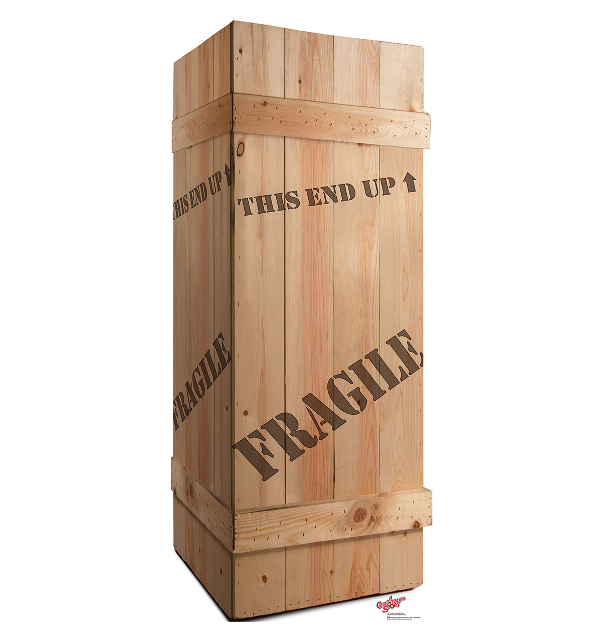 Life-size Fragile Leg Lamp Crate - A Christmas Story Cardboard Standup
