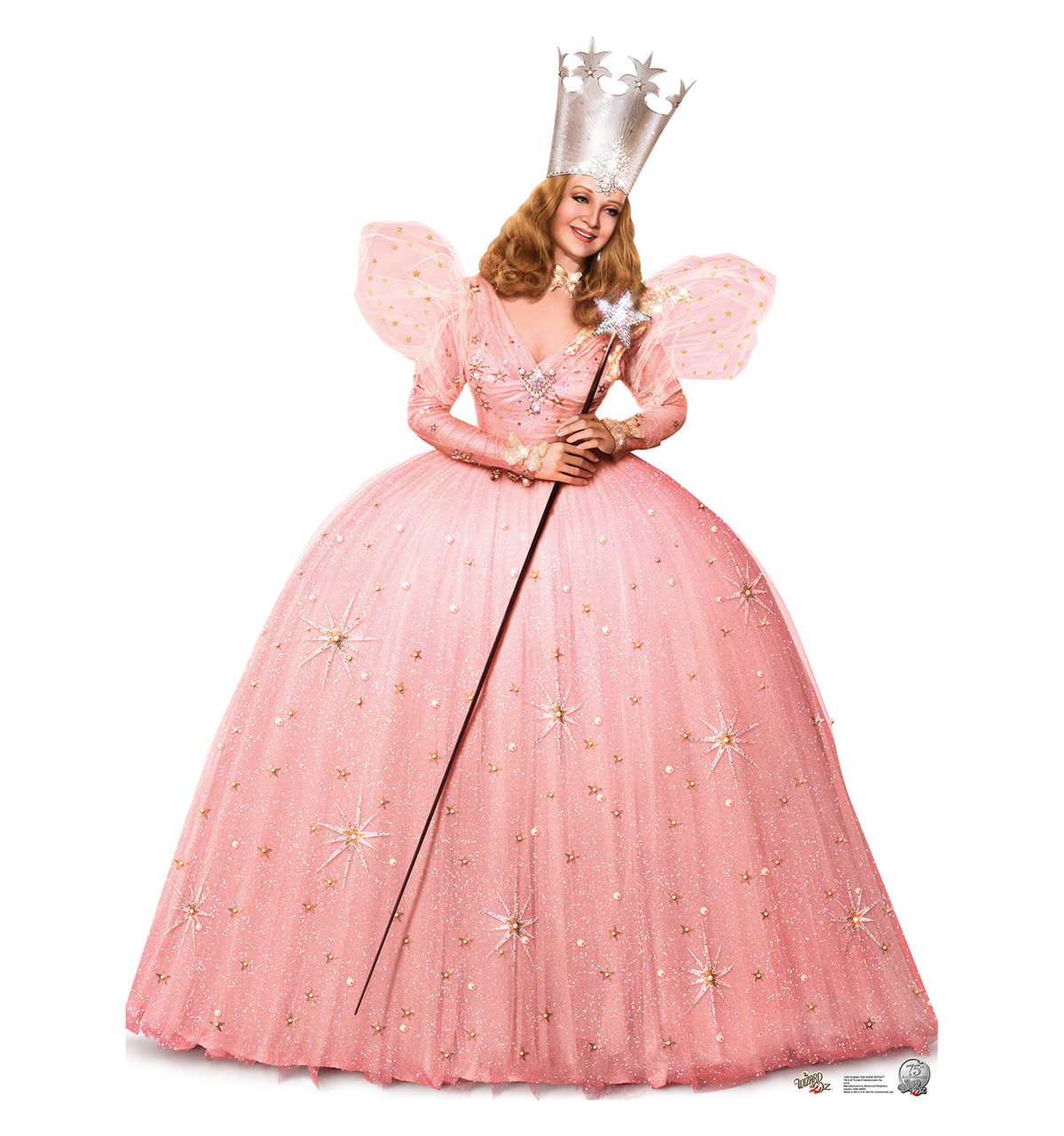 Life-size Glinda the Good Witch - Wizard of Oz Cardboard Standup