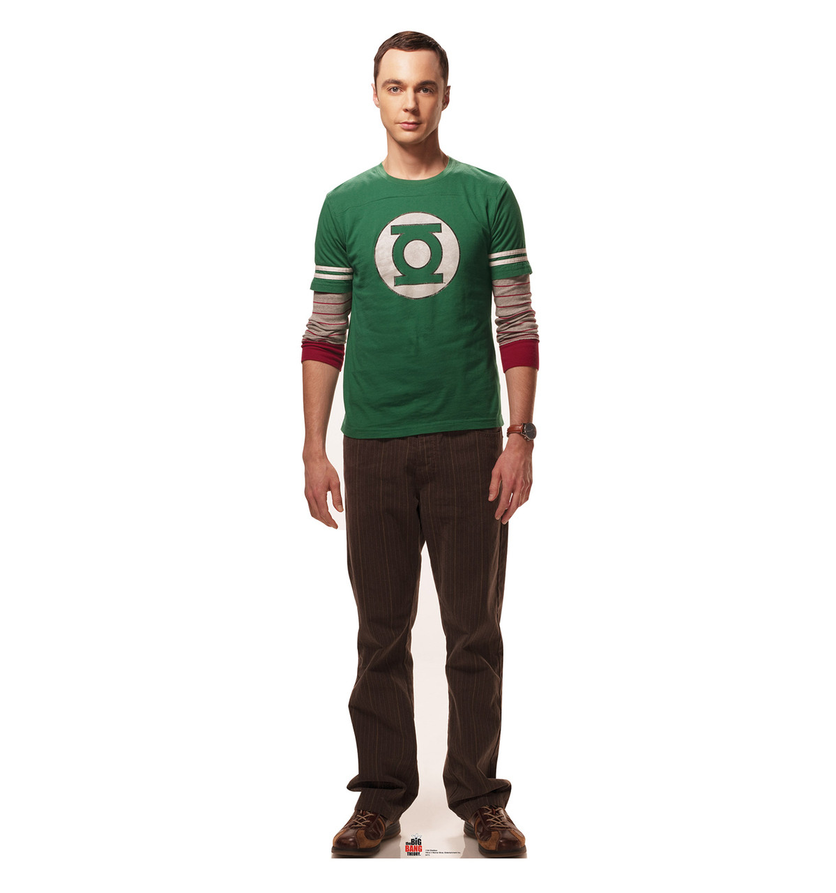 May The 4th Be With You Sheldon Cooper: Big Bang Theory Cardboard Standup