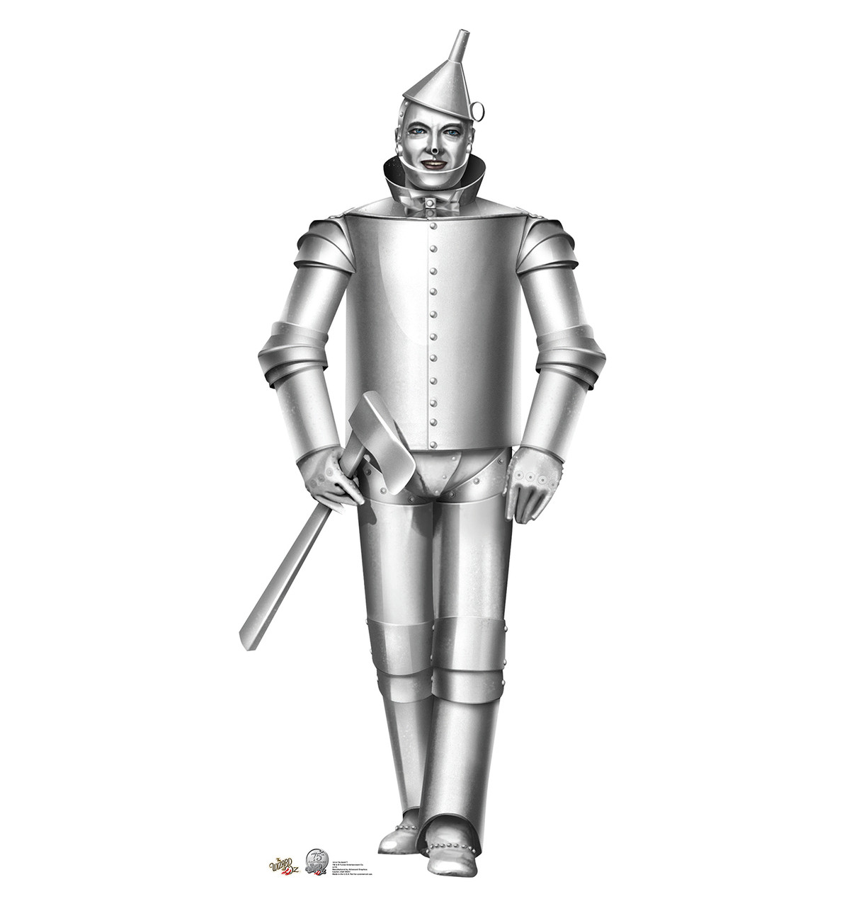 Life-size Tin Man - Wizard of Oz Cardboard Standup