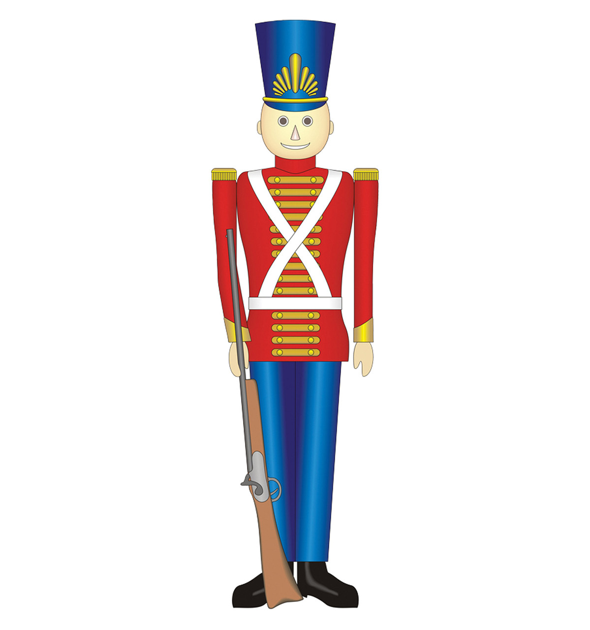 Christmas Toy Soldiers : Life size toy soldier cardboard standup cutout
