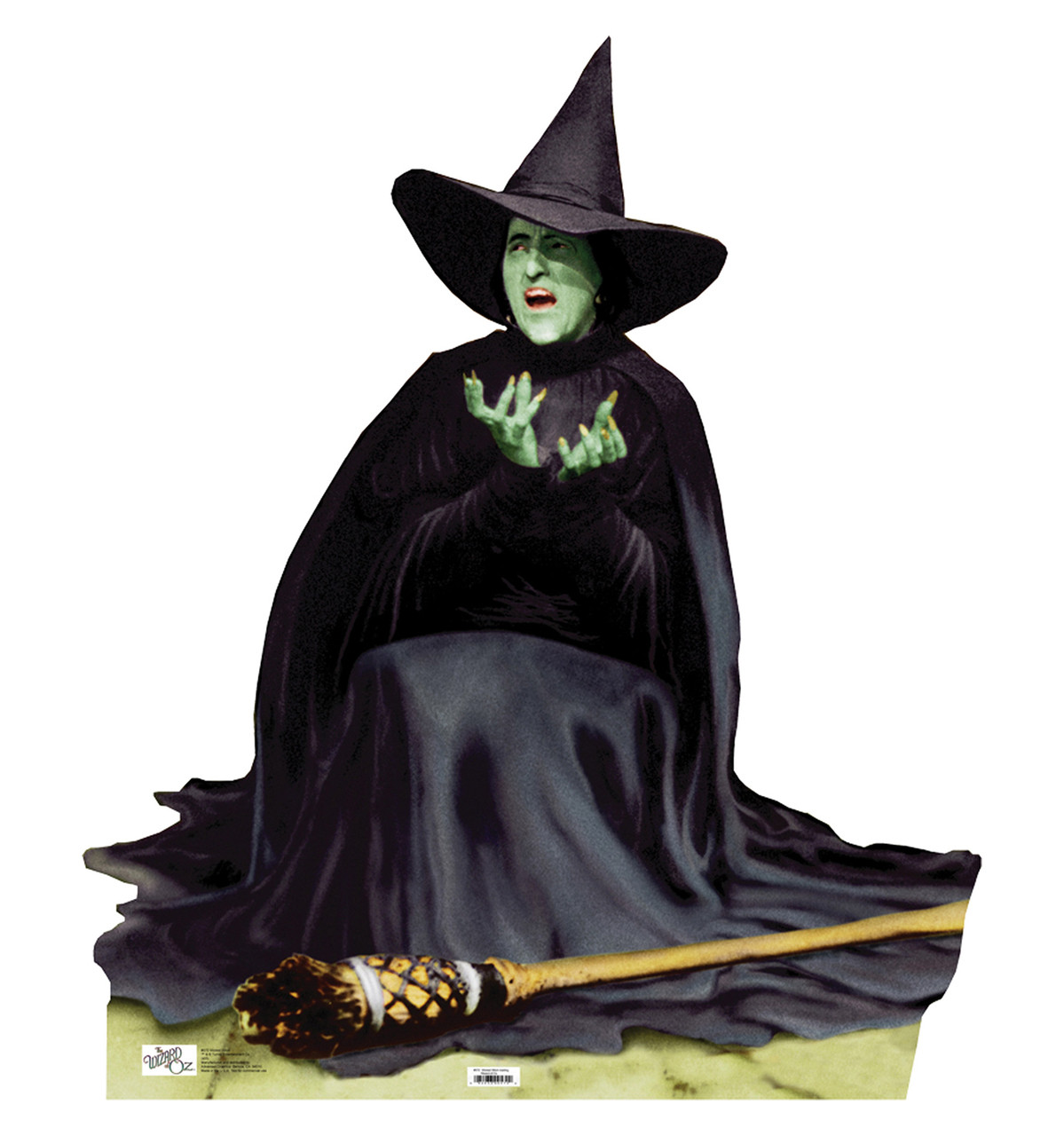 Life-size The Wicked Witch Melting Cardboard Standup