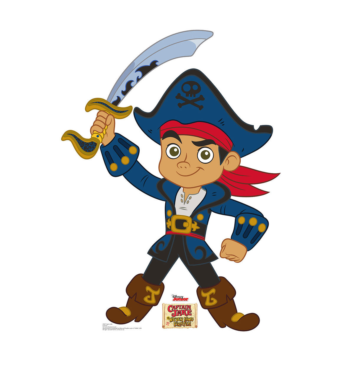 Life-size Captain Jake - Jake and The Neverland Pirates ...