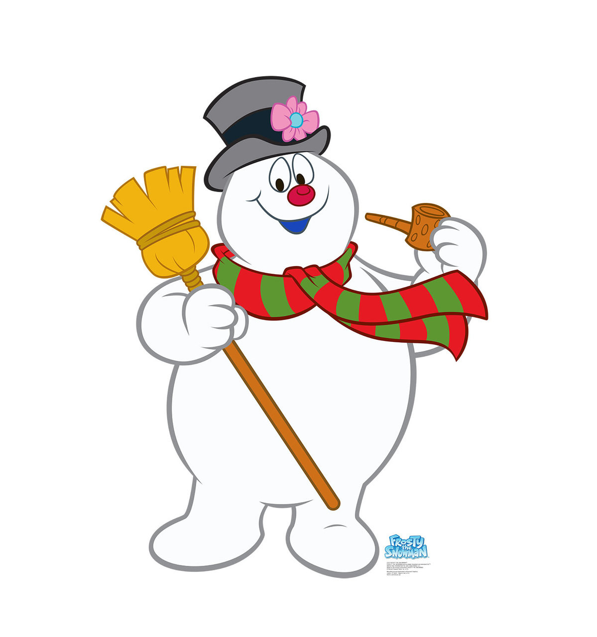 Life Size Frosty The Snowman Cardboard Standup