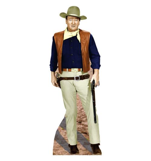 John Wayne-Rifle at Side