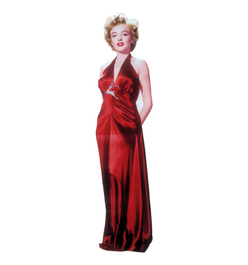 Marilyn Monroe-Red Gown