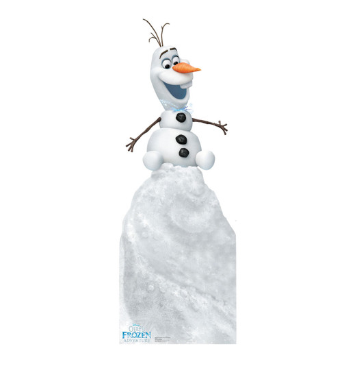 Olaf on Snow Mound (Olafs Frozen Adventure)