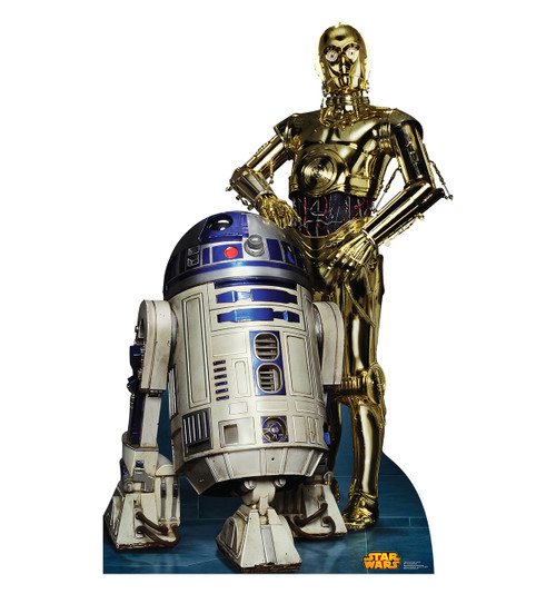 R2-D2 and C-3PO (Retouched)