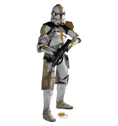 Yellow Clone Trooper