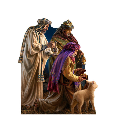 Three Wise Men - Illustrated by Dona Gelsinger