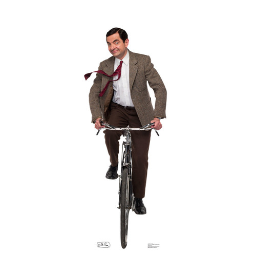 tv cabinet size mr bean bike ride cardboard standup cardboard 27339