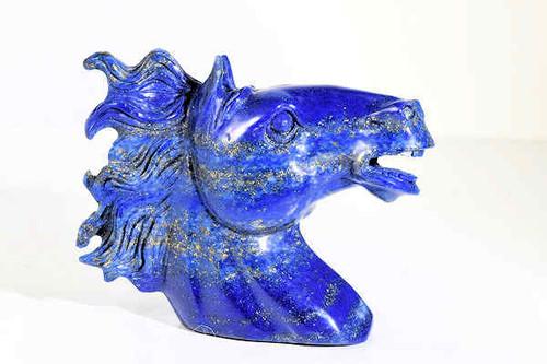 Lapis Horse Head