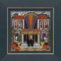 Opera House Cross Stitch Kit Mill Hill 2009 Buttons & Beads Autumn MH149201
