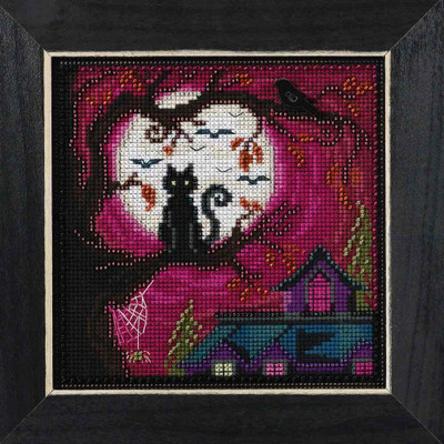Moonstruck Cross Stitch Kit Mill Hill 2016 Buttons & Beads Autumn