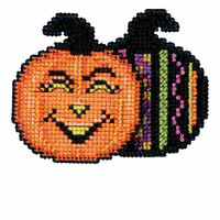 Pumpkin Patch Bead Cross Stitch Kit Mill Hill 2016 Autumn Harvest MH181622