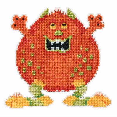 Roly Poly Bead Cross Stitch Kit Mill Hill 2016 Little Monsters Trilogy MH191621
