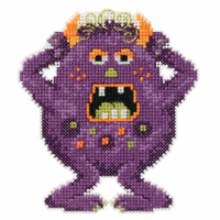 Freckles Beaded Cross Stitch Kit Mill Hill 2016 Little Monsters Trilogy MH191622