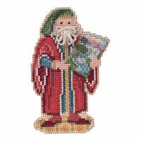 Florence Santa Cross Stitch Kit Mill Hill 2016 Renaissance Santas MH201632