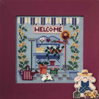 Garden Shed Beaded Cross Stitch Kit Mill Hill 2006 Buttons & Beads Spring MH146101