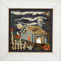Midnight Farm Cross Stitch Kit Mill Hill 2007 Buttons & Beads Autumn MH147204