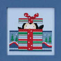 Polar Peek Cross Stitch Kit Mill Hill 2017 Debbie Mumm Polar Opposites DM301712